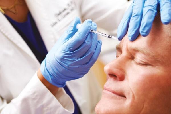 Injecții acid hialuronic la bărbați